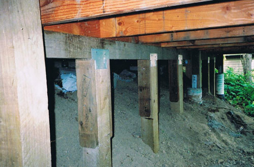 Cabin Foundation Piers Home Design